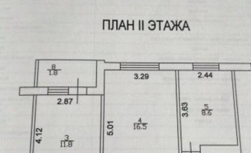 Продается 2-комнатная квартира 51м2  на ЗЯБи, 19 комплекс, номер 2400 - 12