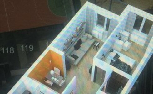 Продается 2-комнатная квартира 55м2 ,  комплекс, номер 1825 - 3