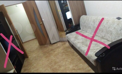 Продается 1-комнатная квартира 39м2 , 22 комплекс, номер 110490 - 5