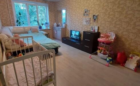 Продается 2-комнатная квартира 44м2 , 18 комплекс, номер 110403 - 4