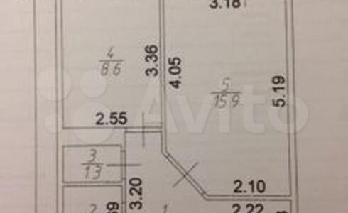 Продается 1-комнатная квартира 40м2 , 21 комплекс, номер 110538 - 11
