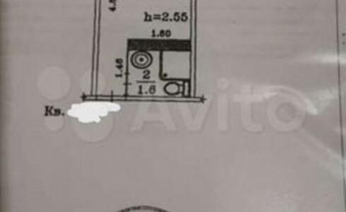 Продается 1-комнатная квартира 11м2 , 52 комплекс, номер 9425 - 8
