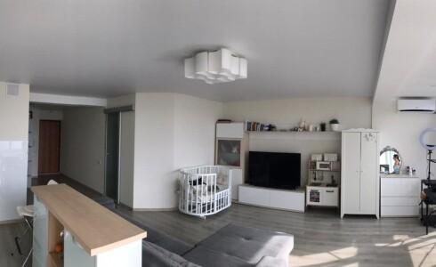 Продается 1-комнатная квартира 48м2  в Новом Городе, 12 комплекс, номер 6924 - 4