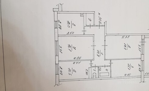 Продается 4-комнатная квартира 85м2 , 3А комплекс, номер 9408 - 11